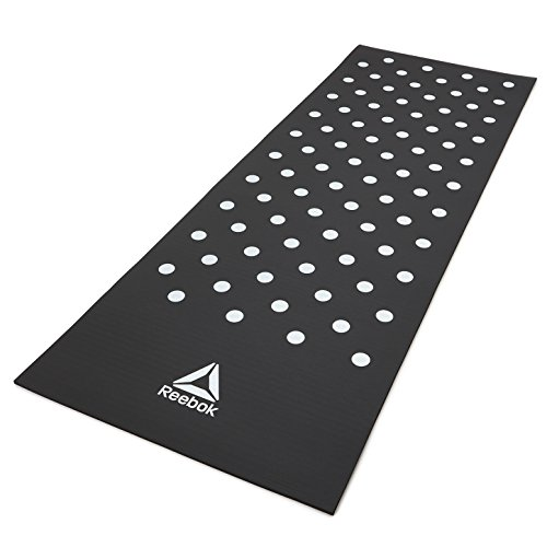 Black Bottom Mat (Reebok Training Mat, Black)
