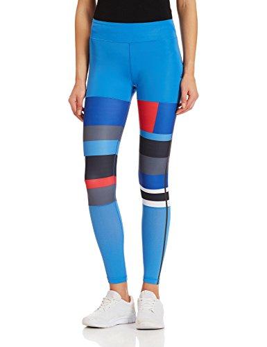 02d0d478d27b1 adidas WOW DROP 2Tight - Capri tights for woman, color Blue, size M