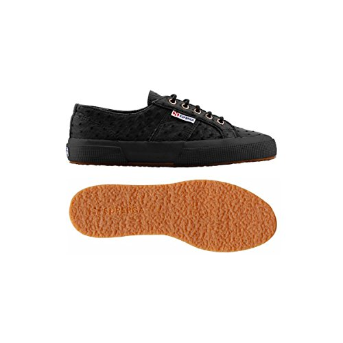 Chaussures Le Superga - Estreme 2750-ostrich FULL BLACK