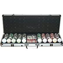 Set completo 500 Fiches High Stakes Poker 14 gr.