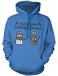 David and Goliath Deadly Weapon Unisex Fit Hood