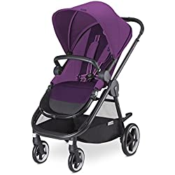 Cybex Iris M-Air - Silla de paseo (desde el nacimiento hasta 17 kg), color Grape juice