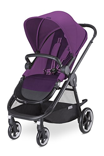 Cybex Iris M-Air - Silla de paseo desdel nacimiento hasta 17 kg, color Grape juice