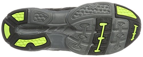 KangaROOS Tramp Hi, Chaussures de  Randonnée Basses mixte adulte Schwarz (Jet Black/Lime)