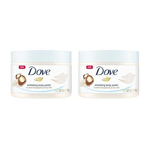 Dove Exfoliating Body Polish Body Scrub (298GM, Pack of 2)