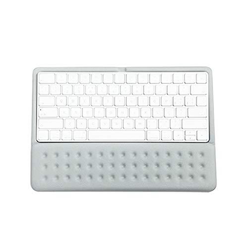 Xbeast Tastatur-Handballenauflage Gepolsterte Memory Foam-Handballenauflage für Computer, Laptop, Schreib- und Handgelenkschmerzlinderung und -Reparatur -