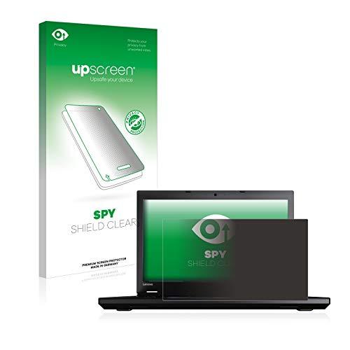 upscreen Anti-Spy Blickschutzfolie kompatibel mit Lenovo ThinkPad L560 Privacy Screen Displayschutzfolie - Sichtschutz, Kratzfest