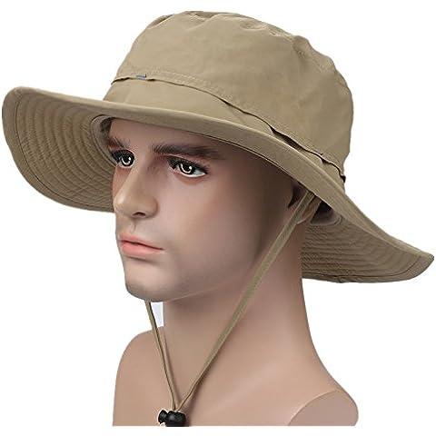 Decentron ad Outdoor-Cappello mimetico stile Bucket Hats-Cappello da pesca