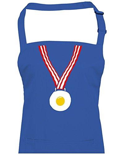 Uova e pancetta medalian-Winning Fry Up Colazione Unisex Grembiule da FatCuckoo, Royal, Etichettalia unica