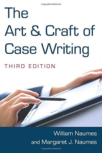 the-art-and-craft-of-case-writing