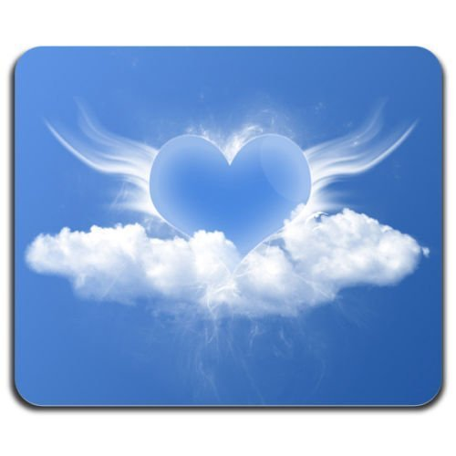 blue-love-heart-valentine-day-beautiful-cloud-shape-romantic-mouse-pad-washable