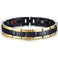 XUANPAI Magnetic Jewelry xuanpai Eleganter Edelstahl Magnettherapie Armband Schmerzlinderung für Arthritis und... preisvergleich bei billige-tabletten.eu
