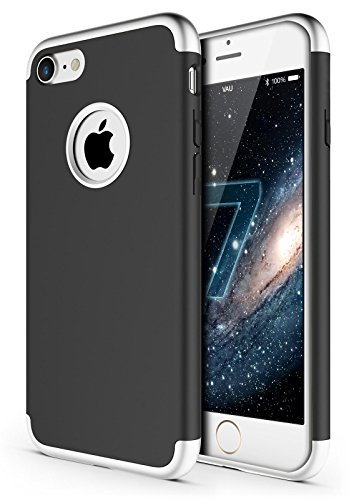 Vau Savage Coque de protection rigide pour Apple iPhone modèles iPhone 7 Basalt Space Milestone Black
