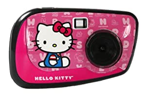 sakar 83009 hello kitty 2 1 megapixel digitalkamera mit 3 gesichts platten spielzeug. Black Bedroom Furniture Sets. Home Design Ideas