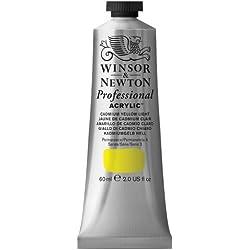 Winsor & Newton - Tubo de acrilico de 60 ml, amarillo