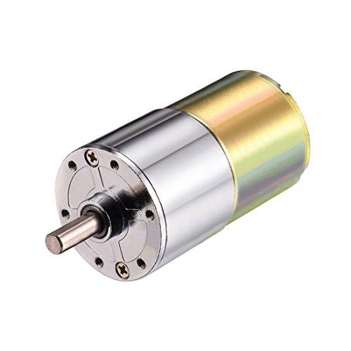 Aexit DC 24V 1000 RPM Micro Getriebe Motor Geschwindigkeitsreduzierung Antriebswelle