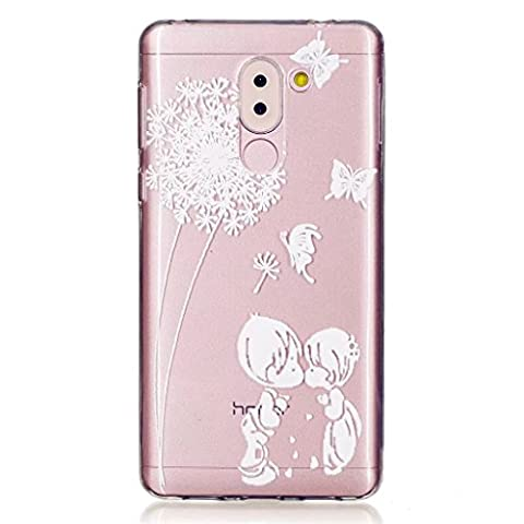 MUTOUREN TPU coque pour Huawei Honor 6X silicone transparent Crystal