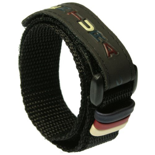 Correa de reloj de velcro ajustable - 18 mm. Color negro - ENVIO GRATIS!!