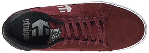 Etnies Fader LS Vulc Herren Skateboardschuhe Red (Burgundy 602)