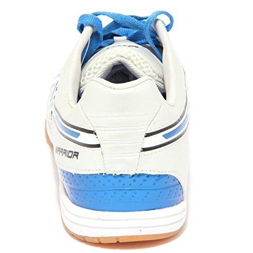 6515Q sneaker uomo ASICS WARRIOR argento/blu shoe men Argento/Blu
