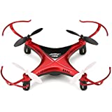 Haibei H22 Hexrcopter JJRC Marca RC Drone 3D Invertido Vuelo 4CH 2.4G 6-Axis mini RC Quadcopter (Rojo)