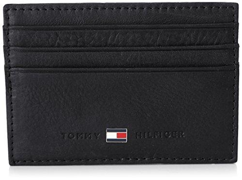 Tommy Hilfiger Herren Johnson CC Holder Ausweis-& Kartenhüllen, Schwarz (Black 990) 10x7x1 cm