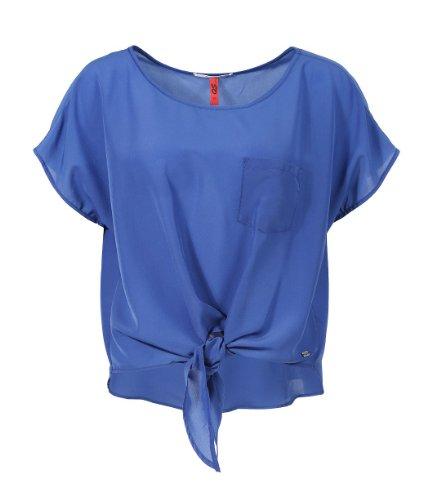 s.Oliver Denim - 41.405.12.5089, Camicetta da donna Blu (aruba blue 5607)
