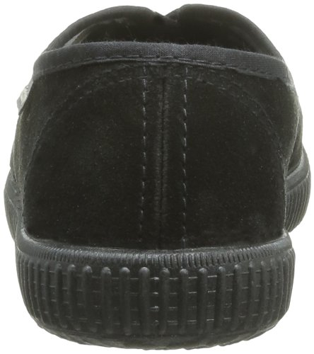 Victoria Inglesa Serraje, Unisex - Erwachsene Sneaker Schwarz - Noir (Negro)