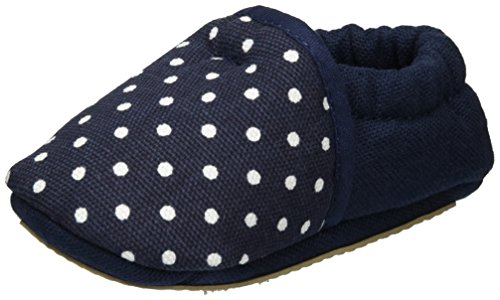 Nanga - Pünktchen, Scarpine e pantofole primi passi Bimba 0-24 blu (dunkelblau)