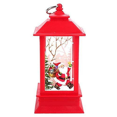 BESTOYARD - Farolillos Navidad diseño Papá Noel