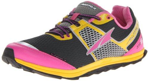 Altra , Chaussures de marche pour femme Noir-fuchsia