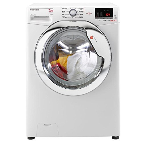 Hoover WDXOC686C1 Dynamic Next Classic One Touch 8kg Wash, 6kg Dry, 1600 Spin Washer Dryer - White