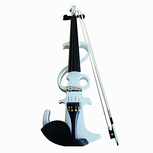 ZQWJ Elektronische Violine 4/4 Geeignet Für Anfänger (Zubehör: Kopfhörer, Batterien, Kabel, Taschen)