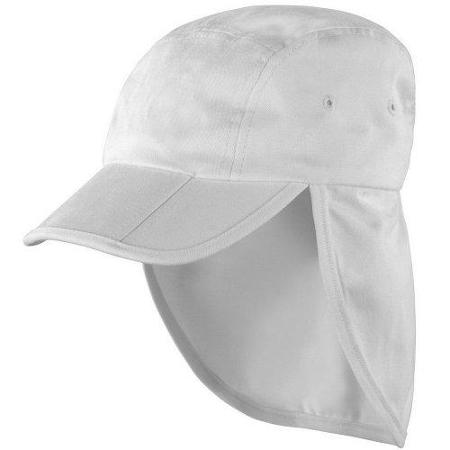 Result Unisex Headwear Folding Legionnaire Hat   Cap (One Size) (White) b29fec4be61b