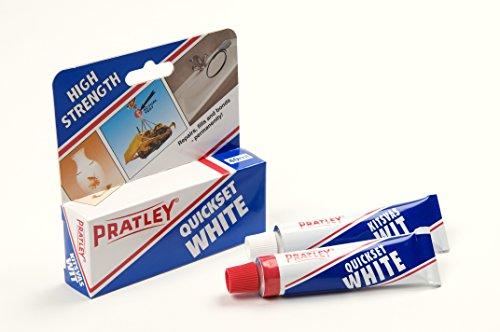 1-x-pratley-quick-set-epoxy-liquid-glue-adhesive-2-x-20ml-tubes-85139-new