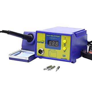 KATSU Tools 312087 Soldering Station Electronic Rework Station with Digital Display Temperature Control