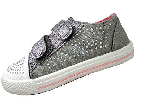 Koo-T , Baskets mode pour fille Matilda Grey