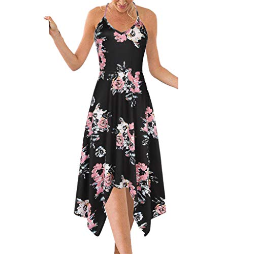 LANSKIRT Vestidos Mujer Casual Verano Otoño Vestido