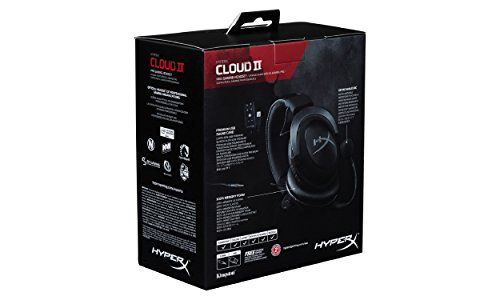 hyperx cloud ii casque gaming avec micro pour pc ps4 mac. Black Bedroom Furniture Sets. Home Design Ideas