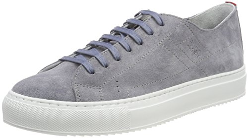 HUGO Greenwich Low Cut-s, Womens Low-Top Sneakers Low-Top Sneakers, Grey Mediu