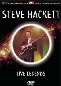 Live Legends: Steve Hackett [DVD]