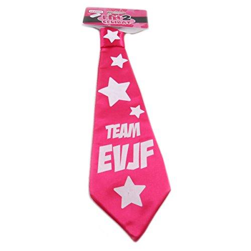 Les Trésors De Lily P9982 - Humorous tie 'Enterrement De Vie De Jeune Fille' rosa.