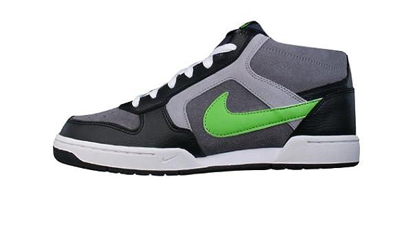 factory authentic b4216 c9717 Nike Renzo Mid Mens Grey/Apple/Black 6 UK UK: Amazon.co.uk ...