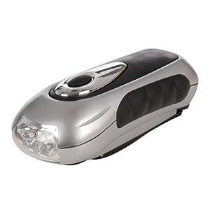 Silverline 839905 Lampe-torche à manivelle de Silverline
