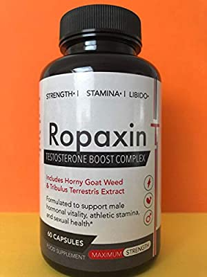 Ropaxin T Testosterone Booster 60 Capsules from Ropaxin T