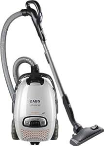 AEG UltraOne AUO 8815 / Beutelstaubsauger / 1600 Watt / Hepa Filter H-13 / AeroPro Motorbürste / Geräuscharm 72 dB