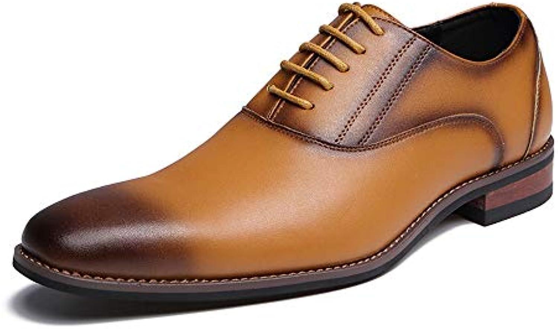 Ofgcfbvxd Scarpe da Lavoro aziendali da Uomo Business Oxford Comode Scarpe Basse Retro Lucido per Abbigliamento... | Outlet Online Store  | Uomo/Donna Scarpa