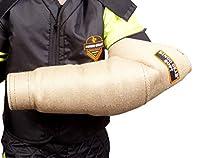 DINGO GEAR S01958 Manchon de Morsure Basse dureté avec Une poignée pour Dressage des morsures de Chien Fait Main en Jute Manchon pour gaucher et droitier