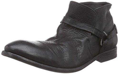 Zapatos De H Hombre Motorista Haya Cortos Frío Botas El Negro Guarnición qgtgn5