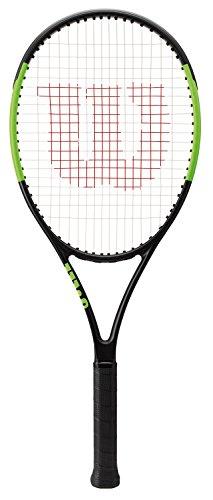Wilson Blade 26 Raqueta de Tenis para niños/jóvenes, WRT533500, Unisex, Negro/Blanco, Altura de 130 a 145 cm